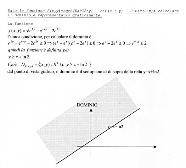 Analisi matematica archivi inambiente for Studio di funzione a due variabili